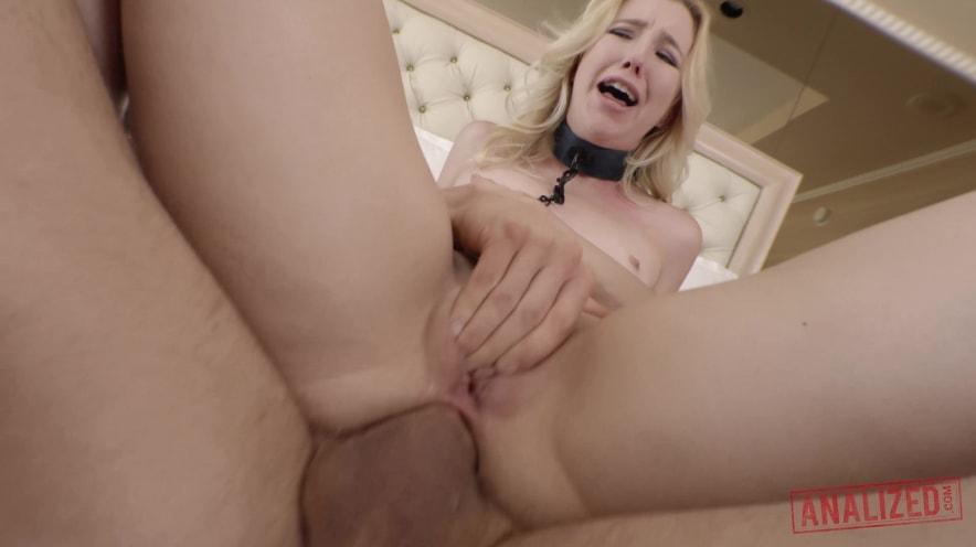 Samantha Rone Blonde Anal Sex Toy